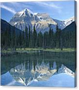 Mt Robson Highest Peak In The Canadian Canvas Print