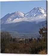 Mt Shasta Autumn II Canvas Print