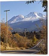 Mt Shasta Autumn Canvas Print