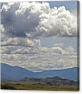 Mt Shasta On A Showery Spring Day Canvas Print