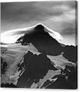 Mt Shuksan Monochrome Canvas Print
