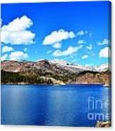 Mtn Lake Bliss Canvas Print