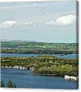 Muckross Lake From Atop Torc Waterfall 2 Canvas Print