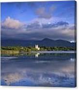 Muckross Lake, Ross Castle, Killarney Canvas Print
