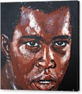 Muhammad Ali Formerly Cassius Clay Canvas Print