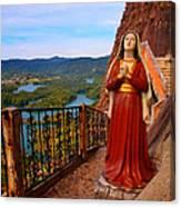 Mujer De La Piedra Canvas Print