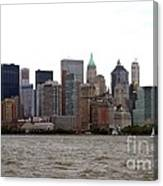 Multi Color Nyc Buildings Canvas Print