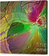 Multi Colored Rainbow Canvas Print