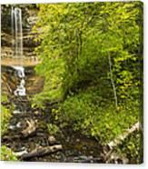 Munising Falls 3 Canvas Print
