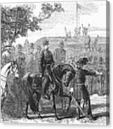 Munsons Hill, 1861 Canvas Print