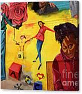 Mural San Francisco Canvas Print