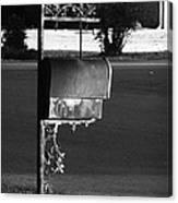 Murfreesboro Mailbox Canvas Print