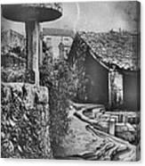 Muros Rice Storage 1982 Canvas Print