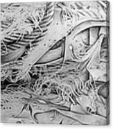 Murosfishnetcomp 1983 Canvas Print