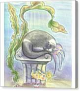 Murrcats  Canvas Print