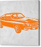 Muscle Car Canvas Print