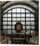 Musee D'orsay's Clock Canvas Print