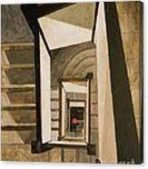 Museum Stairs Canvas Print
