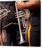 Music - Trumpet - Police Marching Band  Canvas Print