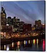 Music City Sunset Canvas Print