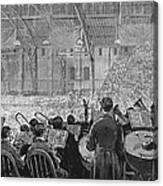 Music Festival, 1881 Canvas Print