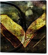 Music Reading Canvas Print