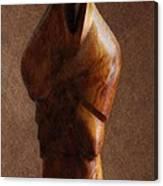 Muslim Figurine Canvas Print
