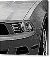 Mustang 002 Canvas Print