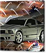 Mustang Saleen  Canvas Print