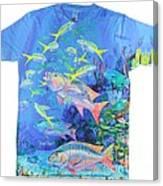 Mutton Snapper Mens Shirt Canvas Print