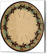 Muybridge Zoopraxiscope Horse Canvas Print