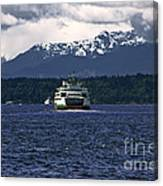 Mv Kaleetan Ferry Canvas Print