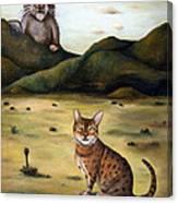 My Cats Worst Nightmare Canvas Print