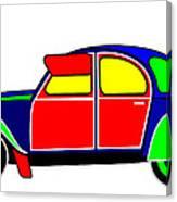 My Dream Car Canvas Print