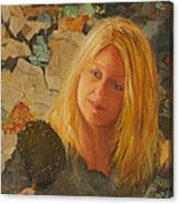 My Face At 50 Canvas Print
