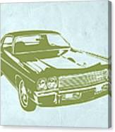 My Favorite Car 5 Canvas Print