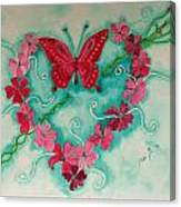 My Heart Has Been Pierced By Love Canvas Print