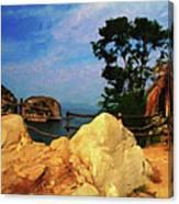 My Little Grass Shack - Baja Mexico  Canvas Print