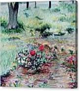 My Mom's Garden Canvas Print