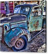 My Old Truck Canvas Print