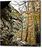My Rock My Shelter Canvas Print