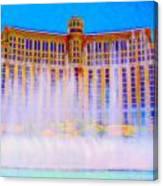 My Vegas Bellagio 2 Canvas Print