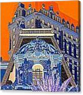 My Vegas Paris 1 Canvas Print
