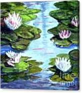 My Waterlilies Canvas Print