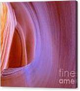 Mysterious Magnificent Antelope Canyon Canvas Print