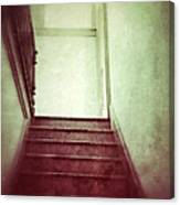 Mysterious Stairway Canvas Print