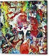 Mystic Rose Canvas Print