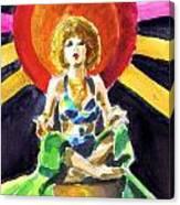 Mystic Vamp Canvas Print