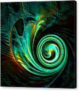 Mystical Spiral Canvas Print