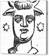 Mythology: Baal Canvas Print